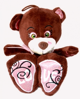 Big brown teddy bear - P54