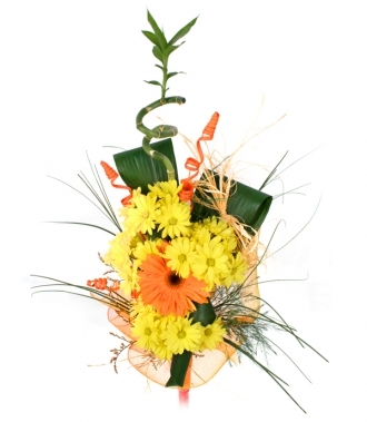 Chrysanthemum and Gerbera bouquet