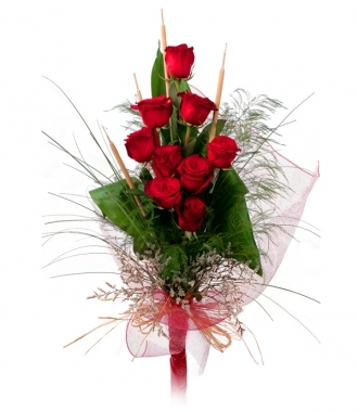 Rose bouquet 9 pcs.