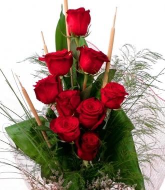 Рози букет